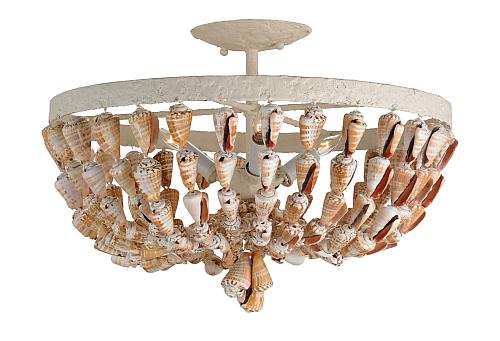 seashell ceiling light the designer insider