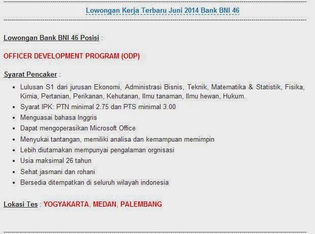 lowongan-kerja-medan-juni-2014-bank-bni