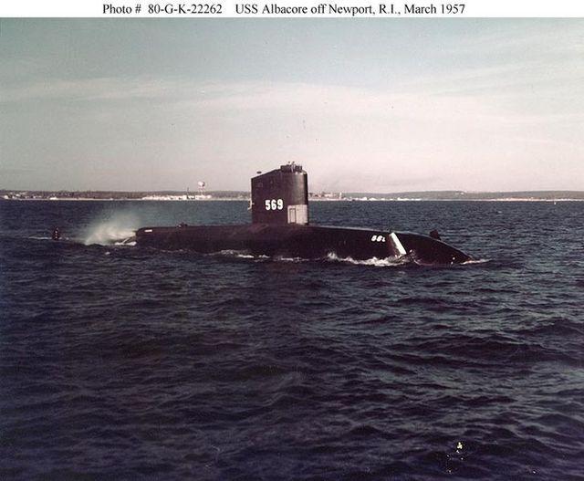 Kapal ini adalah kapal selam penelitian unik yang dipelopori Amerika ...