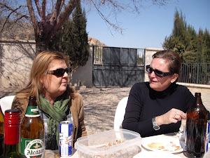 Rosa y Lola Araque
