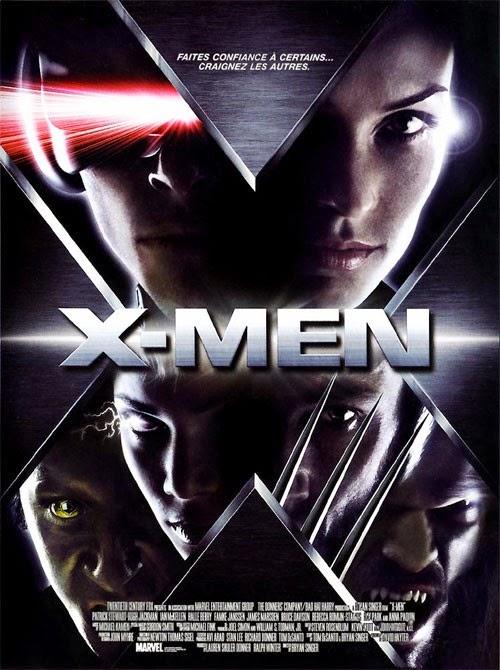 The X-Men Film Series (Topic Unique) Affiche