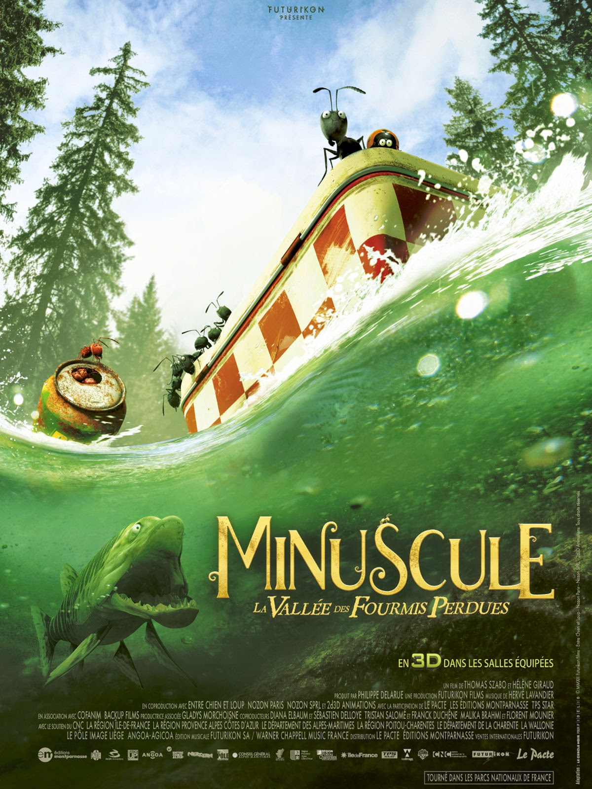 Download Filme Minuscule: Valley of the Lost Ants BDRip Legendado