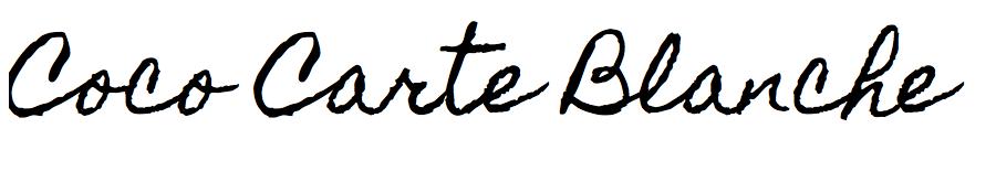 Coco Carte Blanche