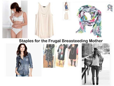 staples for the breastfeeding mother