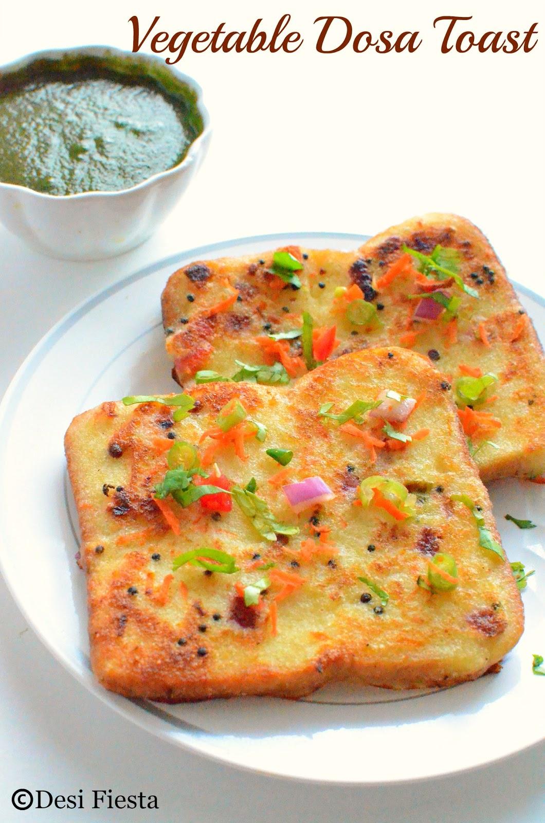 Dosa Toast Recipes