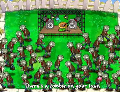 Download Game Plant vs Zombie