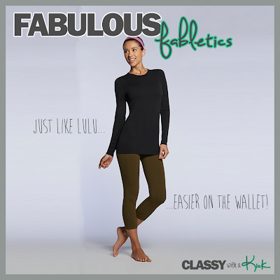 Classy with a Kick: Fabletics Work Out Wear Review Begin