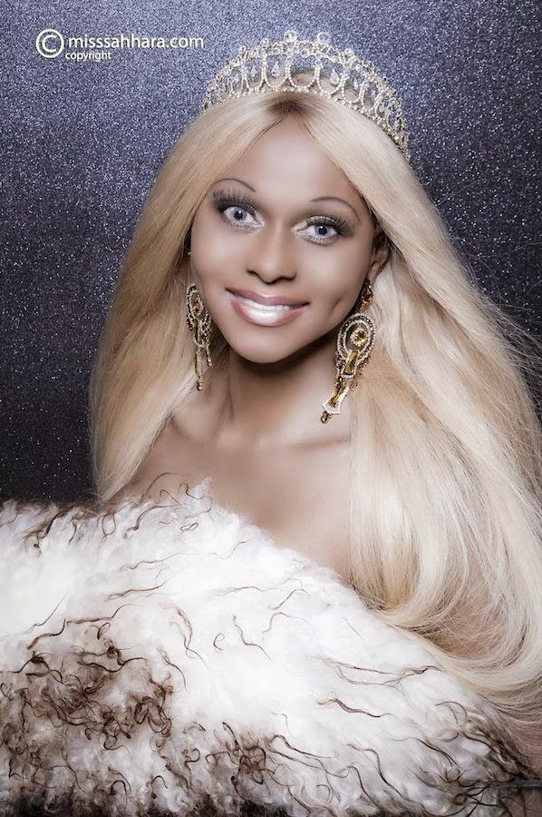 Photos: Nigerian transgender Sahhara shares sexy photos of