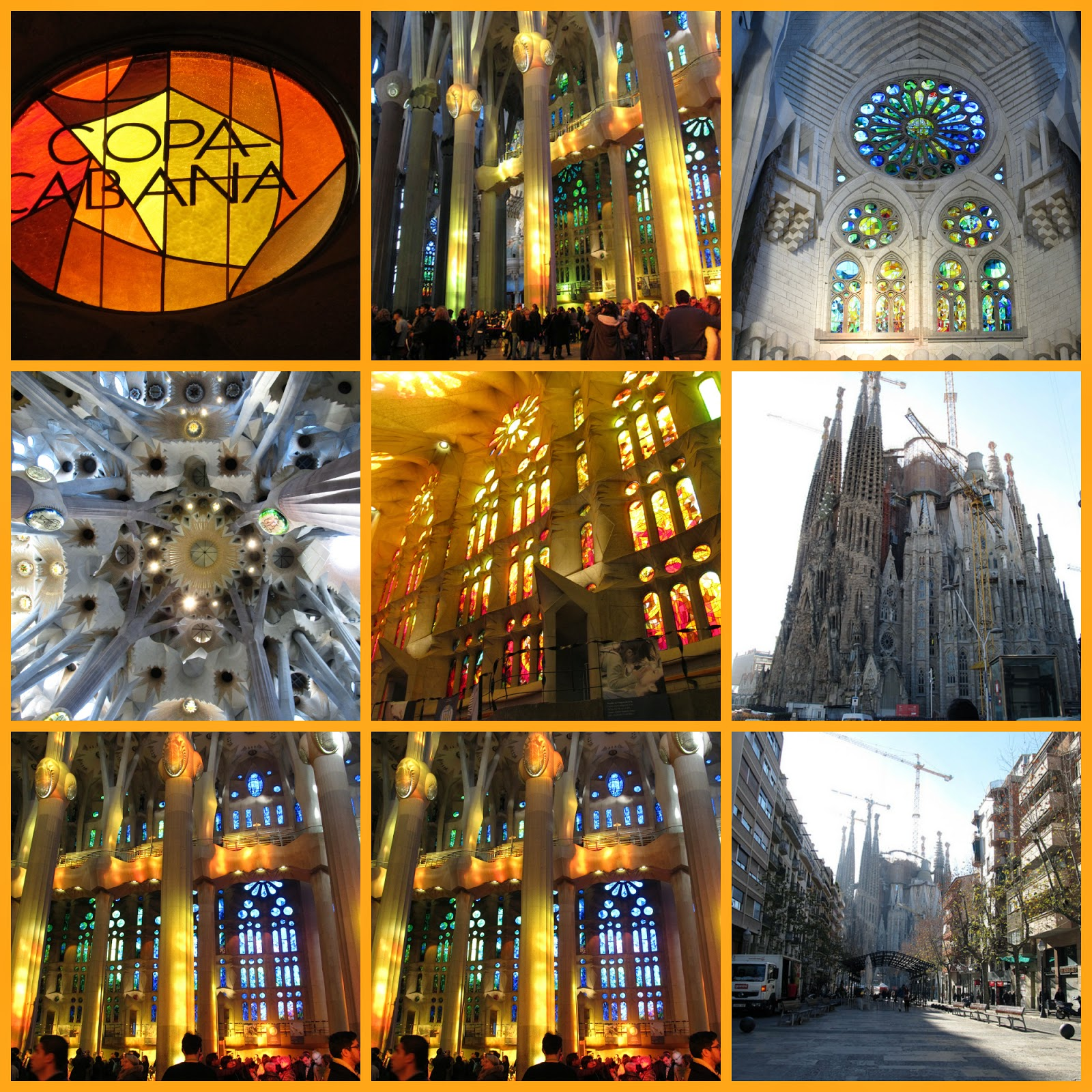 Viagem a Barcelona, Espanha