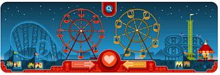 Google Doodle Valentine 2013