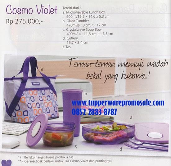 Tupperware Promo & Sale: Cosmo Violet
