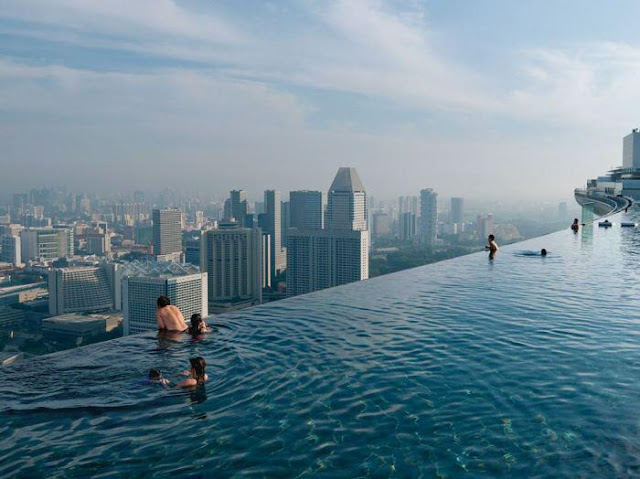 amazing, roof, pool. unbelievable
