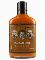 Most Wanted Pain is Good Habanero Pepper Sauce