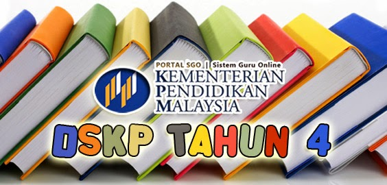 DSKP Tahun 4 Bahasa Kadazan Dusun KSSR