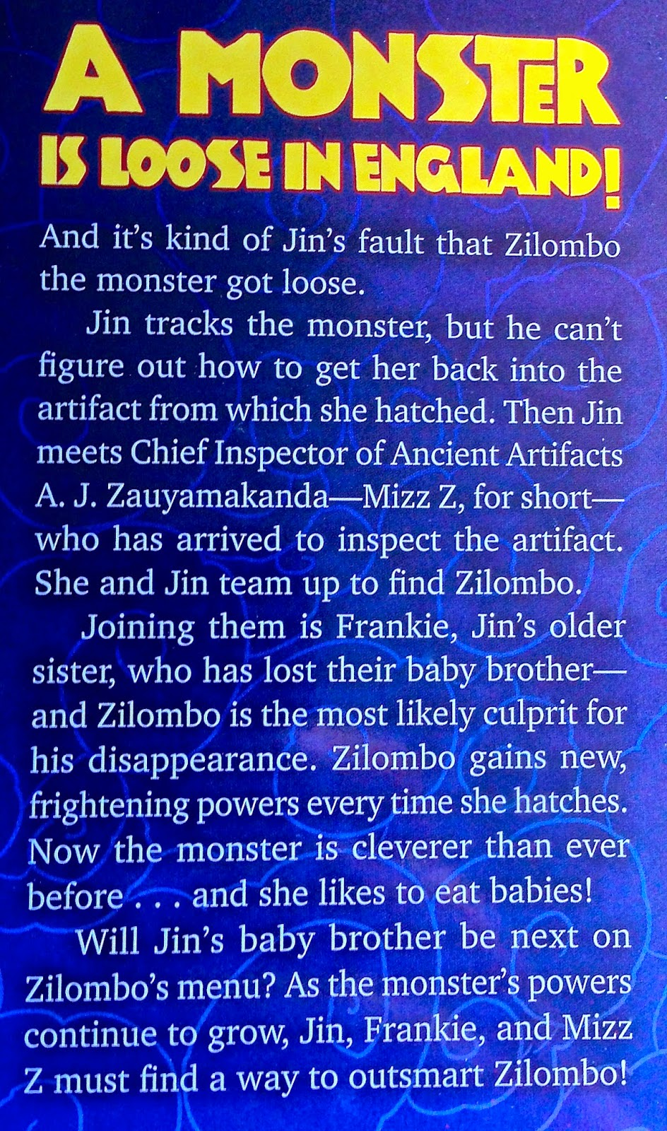 Monster in the Mudball blurb