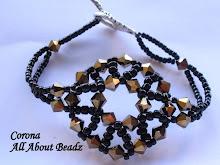 Black&Gold Corona Bracelet