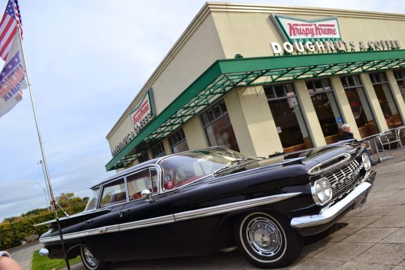 The Petrol Stop American Auto Club North West Meet Krispy