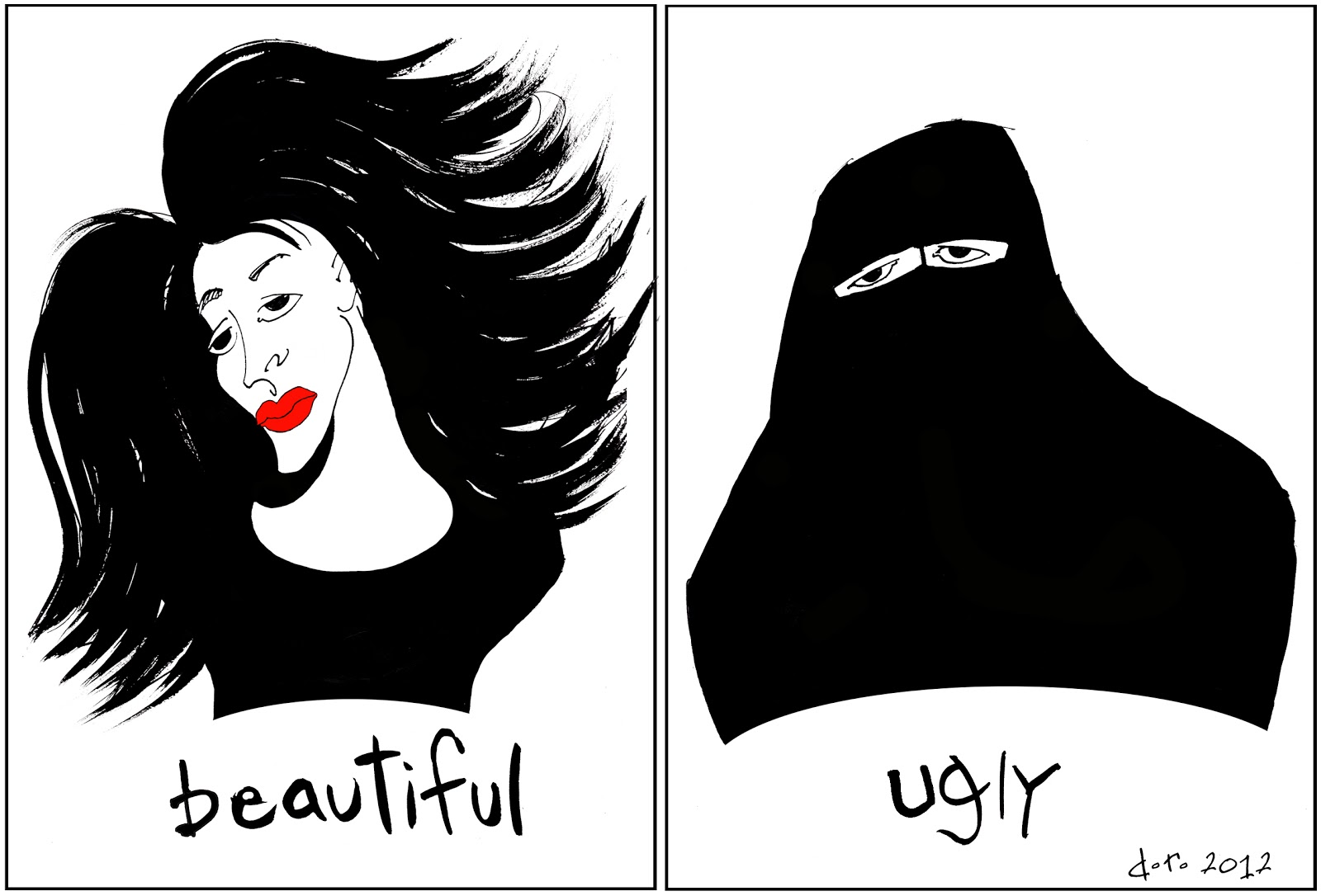 how ugly but how beautiful Be realistic with beauty standards are you really ugly, or simply average in today's media culture we are bombarded with images of models and not real normal people.