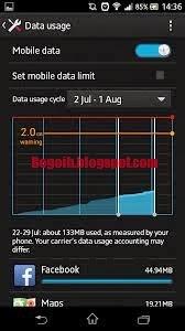 Cara Menghemat Data Internet di Android