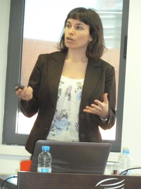 Conferencia La gramática del espacio en lengua de signos catalana (LSC) - Barcelona 11/05/12 Gemma_barbera