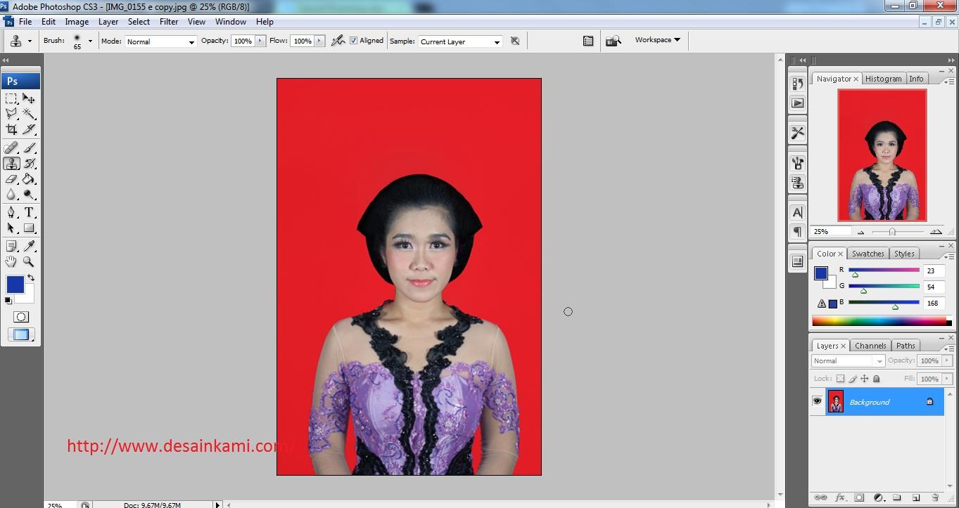 ... akan memberikan tips cara membesarkan ukuran foto dengan photoshop