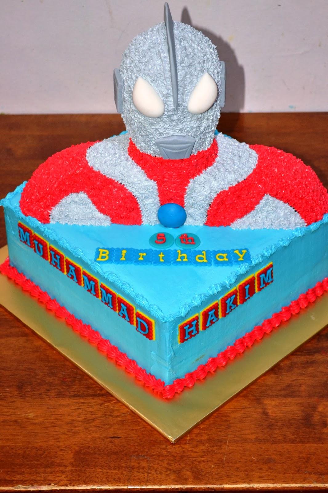 MyPu3 Cake House Ultraman 3D cake