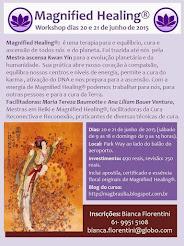 Curso Magnified Healing Brasília