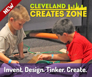 Cleveland Creates Zone at @GLScienceCtr