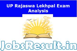 UP Rajaswa Lekhpal Exam Analysis