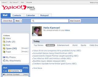 Yahoo mail classic
