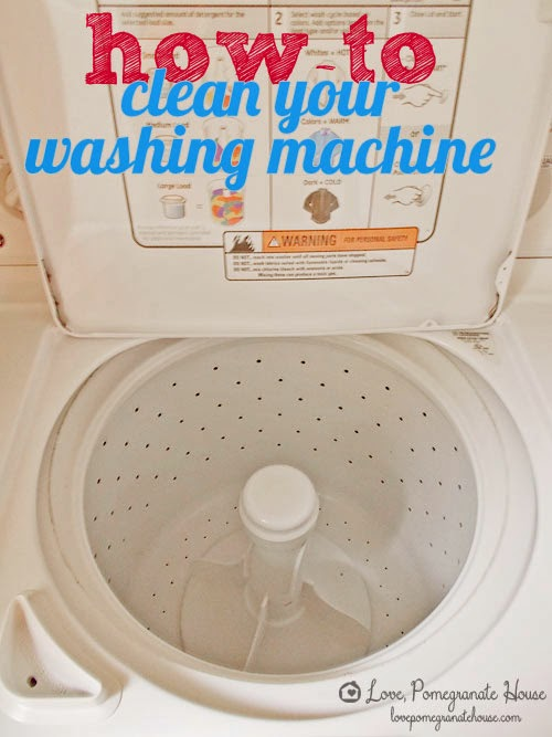 How-To Clean Your Washing Machine