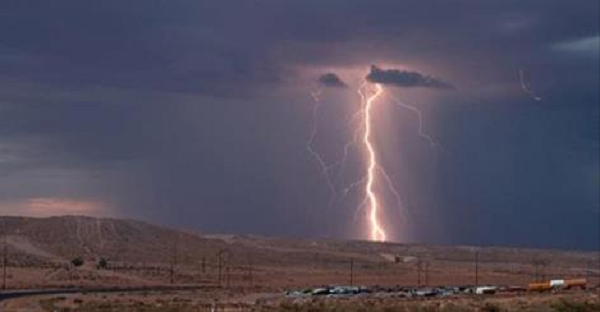 Must Watch: Storm Chaser Films Himself Being Struck By Lightning