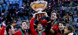 TENIS-Quinta Copa Davis para España