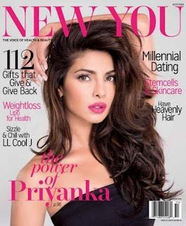 Priyanka Chopra in New You Magazine Winter Edition