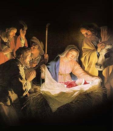 Saint et Joyeux Noël - Jésus - Vierge Marie