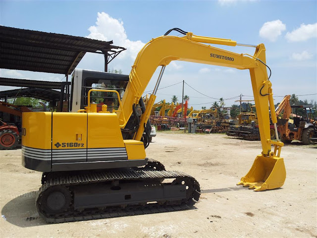 Sumitomo S160F2 Excavtor SSL Heavy Machinery S/B Ipoh