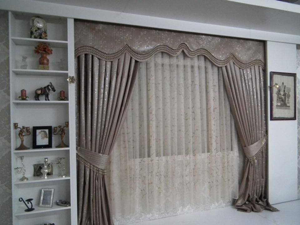yeni 2013 fon perde modelleri elif perde. Black Bedroom Furniture Sets. Home Design Ideas