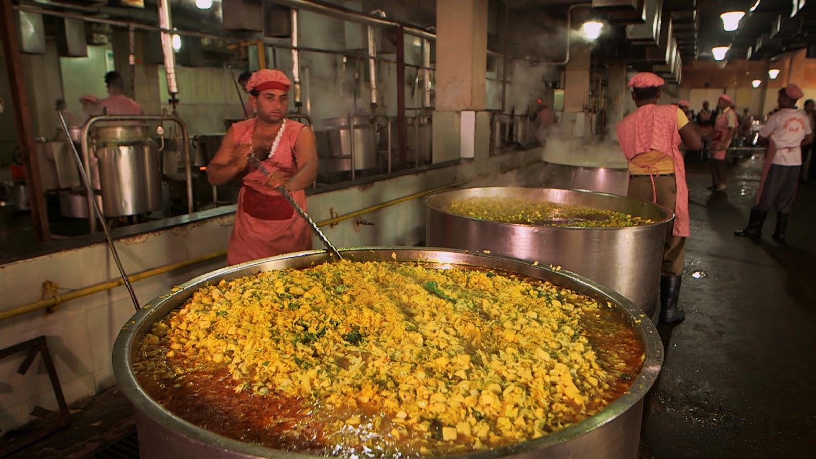 India S Mega Kitchen Dharmasthala