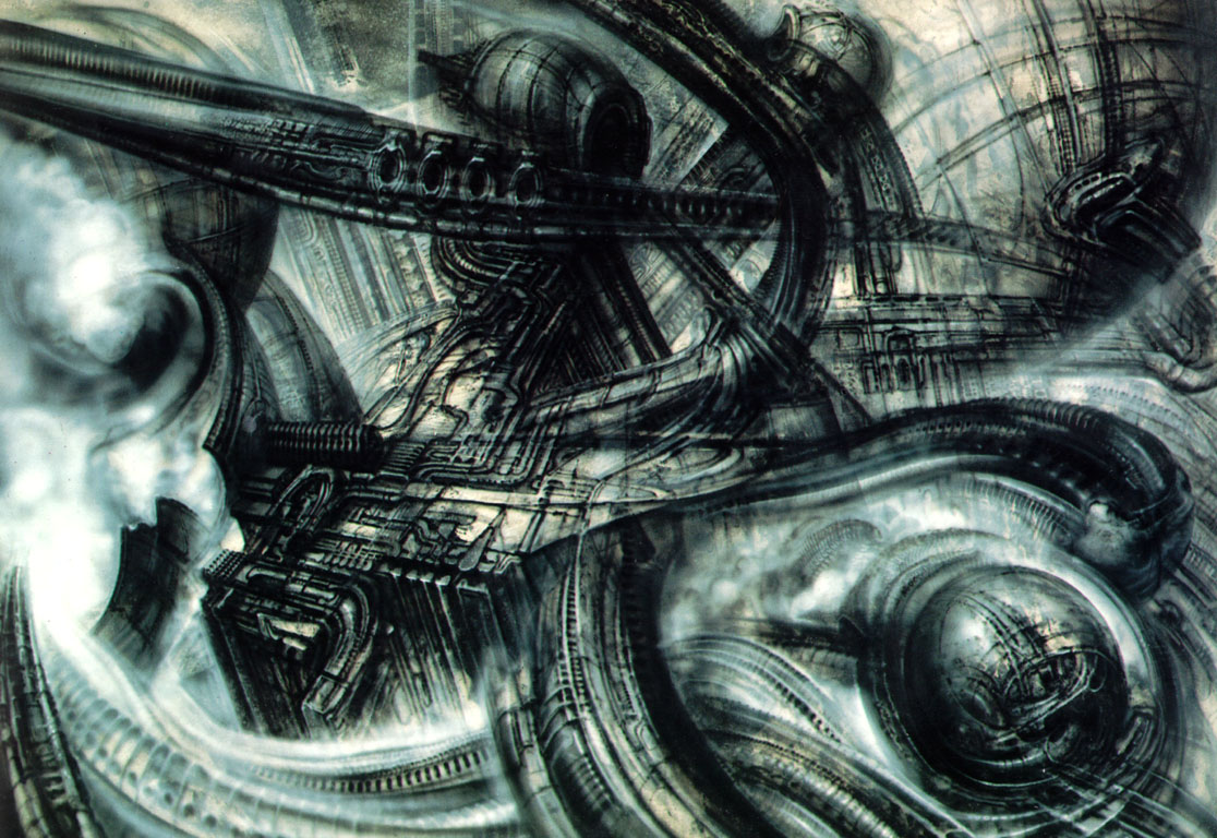 Ba Hons CG Arts &amp Animation  UCA Rochester Course Blog The Supplement H R Giger