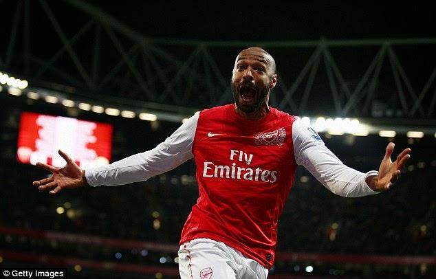 Thierry Henry Resmi Latih Arsenal U-16