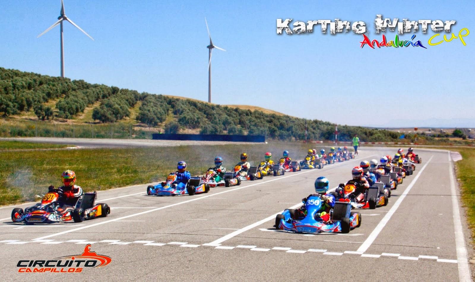 Circuito Jumilla : M&k karting: enero 2014
