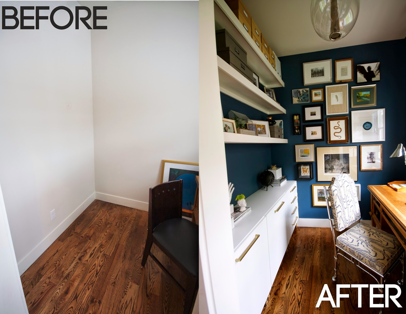 design dump: one room challenge REVEAL: my mini office