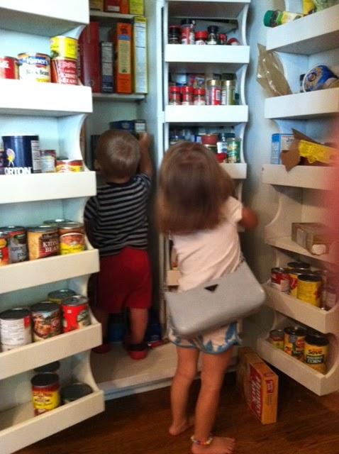 put groceries away habyts