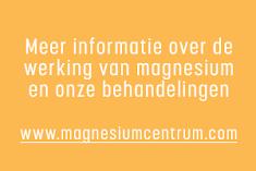 Magnesiumtekort? Magnesium Centrum Soest Laanstraat 4