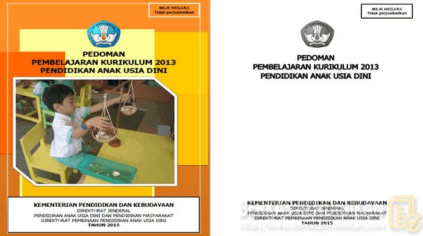 Pedoman Pembelajaran PAUD Kurikulum 2013