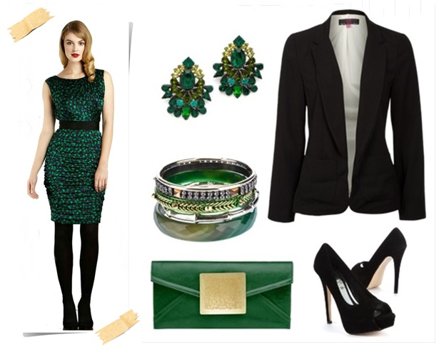 Fancy Elegant Green For Fall Winter Wedding Guest Dresses Outfits