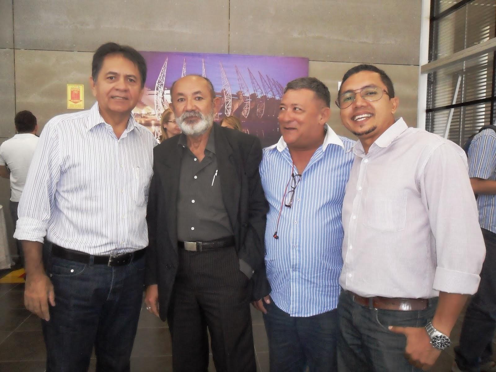 SUPERINTENDENTE DO DAE JUAREZ ALBUQUERQUE  IVANDI ARRAES E WILLIAM DO BICICROS