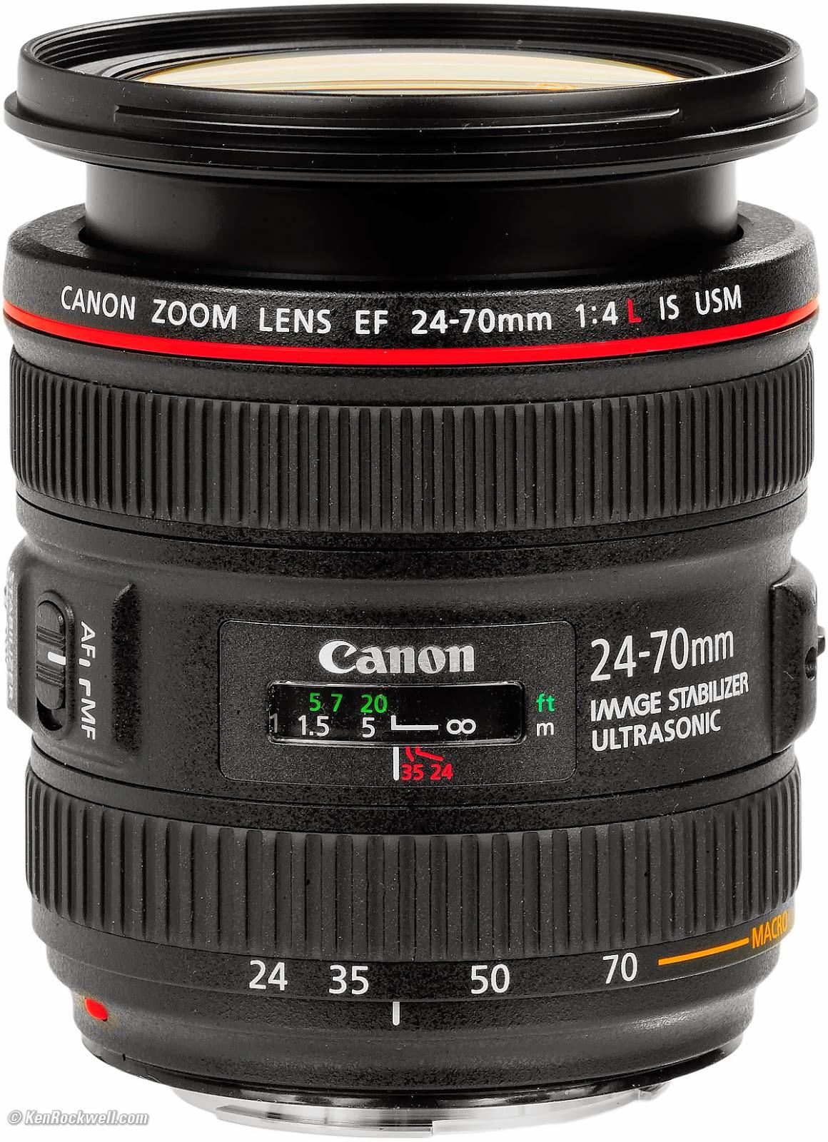 Harga Lensa Kamera Canon EF 24-70mm f/4L IS USM Terbaru