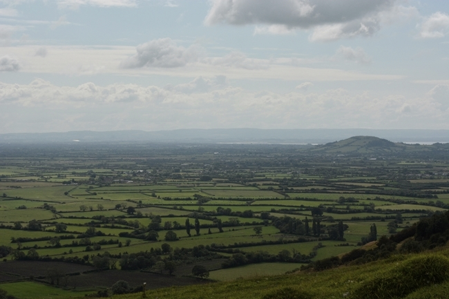 Valley hills fields english countryside cute quaint landscape