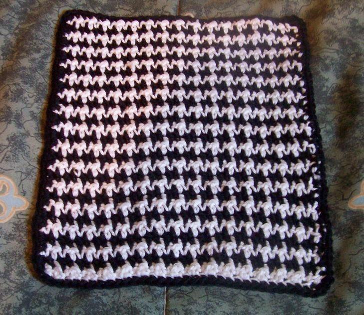 Crochet Stitch Houndstooth : The Houndstooth Crochet Stitch